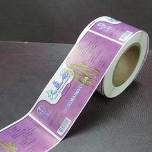 auto-adhesivo rollo etiqueta personalizada