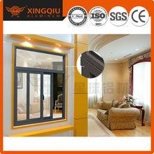 Various Surface Treatments aluminum profile sliding windows