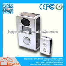 Business Video Surveillance Dvr Solar Camera Alarm With Video Record and Solar Panel
