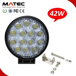 Offroad 42w Round IP68 Led Dynamo Working Lights