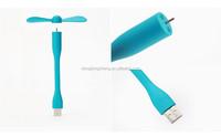 New Summer children USB Mini Fan Flexible USB Portable Fan for Power Bank&notebook&laptop&computer Power-saving Low Voltage