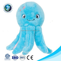 Promotional sea animal plush cuttlefish octopus toy with big eyes cute cheap plush stuffed soft toy octopus