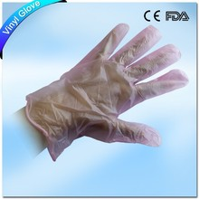 Hair dying disposable vinyl gloves powder free for wholesale