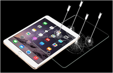 2015 New !! Full Cover 0.33mm 2.5D Curved Edge 9H Hardness HD Clear Tablet Tempered glass screen protector for iPad mini 4