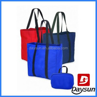 Shopping Foldable Tote bag with Full Length Shoulder Handle
