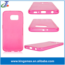 Crystal Clear Transparent Soft Silicon 0.3mm TPU Case for S6 Cases Cover Shell
