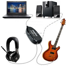 he china supply with good price usb midi guitar cable PC To Guitar USB Interface Audio Link Cable
