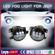 FACTORY STOCK! led light jeep 4.5 inch round 30w replacement led fog light for jeep Wrangler harley motorcycle
