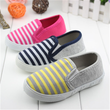 HFR-TS62 Spring 2015 shoes for men and women children stripe canvas shoes, casual shoes