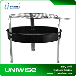 Simple Portable Charcoal BBQ Grills/ Table Cooking Tray Camping Outdoor Garden bbq grills