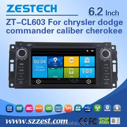 6 inch car radio with sim card For JEEP chrysler dodge commander caliber cherokee