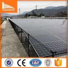 Japan solar power fence