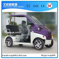 electric coach 4 wheels 3 seats