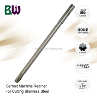 Cermet Material Machine Precision Reamer For Metalworking
