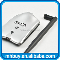 high Tech ALFA AWUS036H 1000mW Wireless Adapter With 5db Antenna Realtek8187L Chipset comfast signalking WIFI Receiver