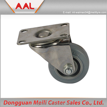 Rubber Ball Caster Wheels In High Quality grey rubber swivel caster