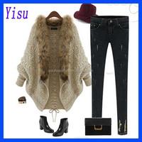 Wholesale Women's Sexy Warm long sleeve sweater Coat