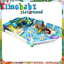 Kids indoor exercise playground equipment has own factory