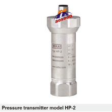 WIKA Pressure transmitter for highest pressure applications Up to 15,000 bar HP-2 maed in Germany