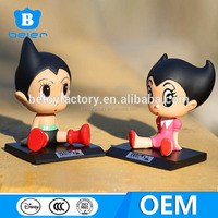 Couple Astro Boy bobble head figure, custom bobblehead figurine, china toy factory