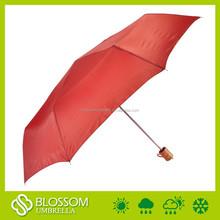"2015 21""x8k hot sale new promotional 3 folding umbrella"