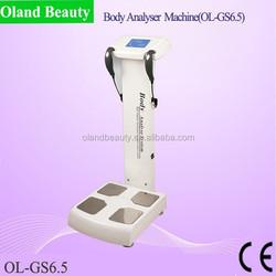 High quality !! Professional body fat test equipment/body analyse system/body fat analyzer
