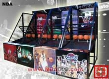 QHBM01 high quality Crazy Coin Operated Basketball Machine