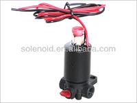 1/8'' inch plastic three way electric water valve