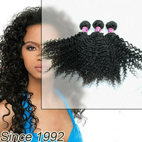 alibaba express cheap fast indian remy kinky curly hair extensions Drop shipping