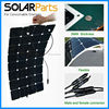 High Quality portable solar panel flexible 100W semi flexible solar panel