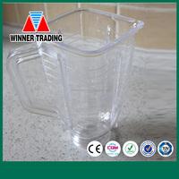 PLASTIC OSTER BLENDER JAR AND LID AND BLADE /BLEDNER PART