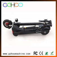 Newest intelligent system two wheels pocket bike electric scooter