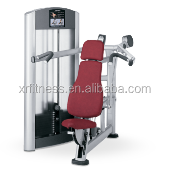 Commercial fitness equipment seated shoulder press XF05