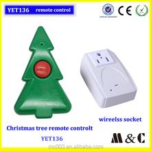 High Quality Christmas Decorations Lights Remot4e Control DC or AC