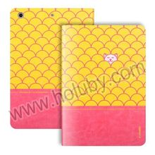 i-Smile Eloise Series Dual-color Design Smart Wake Sleep Stand Flip Leather Case for iPad Mini, For iPad Mini Leather Case
