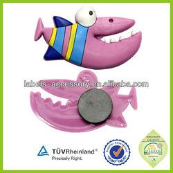 Promotional newest Souvenir Flexible rubber magnets for fridge