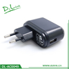 Top Sell Home Necessary Product Safe Phone Accessories Wall Charger 1000mA For Different Mobile Device