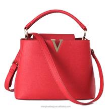 Latest design PU handbag briefcase Vintage Shoulder bag