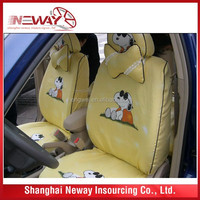 cool car seat cover/ funny design car seat cover