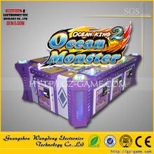Crazy Shark fish hunter game English version arcade machine 8 players Ocean monster max