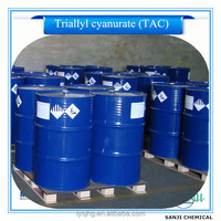 Triallyl cyanurate(TAC), synthetic resin additives, rubber cross linking agent, 99%