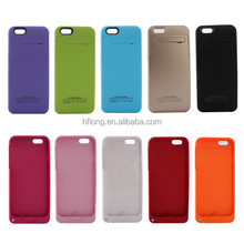 External Backup Battery Pack Case For iPhone6 iPhone 6 Rechargeable Power Case Charger 3200Mah Ten Colors PayPal Accept