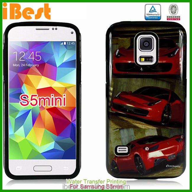 Hybrid heavy duty hard soft shockproof kickstand pc tpu case for galaxy s5 s5 i9600