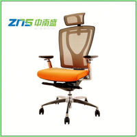 Padded Seat leather office chair head rest