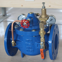 Large Pilot Operated Automatic Water Pressure Reducing Valve