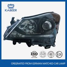 Car black head light auto HID head lamp type for toyota crown 2010-2012