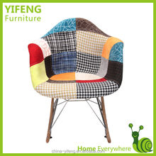 modern design colorful fabric rocking chair (factory manufacturer)