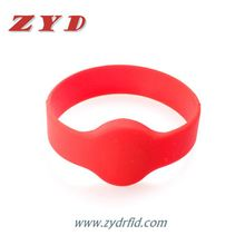 13.56MHz Ultralight RFID smart wristband for events