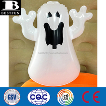 Halloween Promotional customized OEM PVC inflatable ghost stand up punching bag plastic ghost spirit decorative bop bag