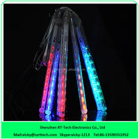 Snow falling led christmas lights/unique outdoor christmas light